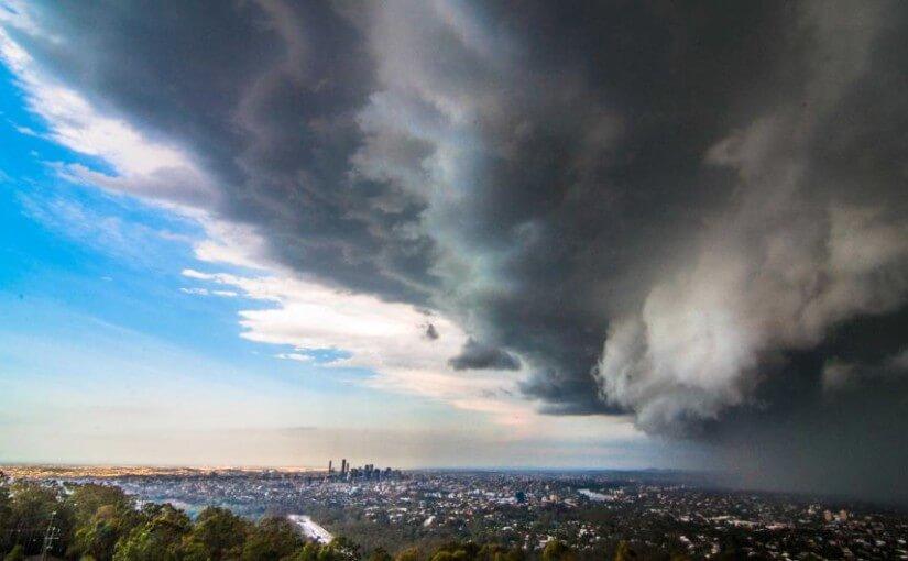 Brisbane's supercell storm